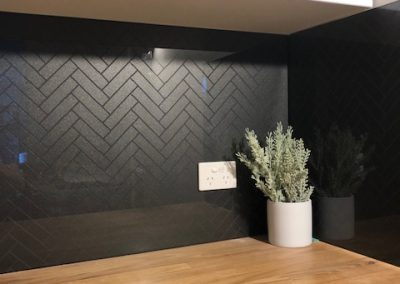 FGS 3DS Herringbone Glass Tile